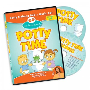 Potty Time DVD and CD