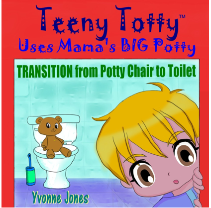 Book Review Teeny Totty Uses Mama S Big Potty Transition